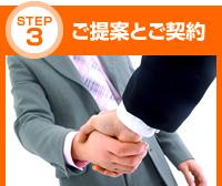 STEP3:ご提案とご契約